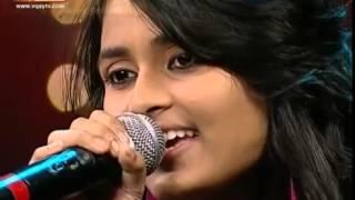 Super Singer Junior   Yaarumilla Song by Anu and Priyanka