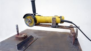 NEW!!! Homemade Angle Grinder Stand (Angle Grinder Support )