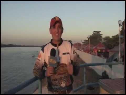 CON CAÑA Y CARRETE TORNEO INTERNACIONAL DE PESCA DE ROBALO ZAPATA 2012