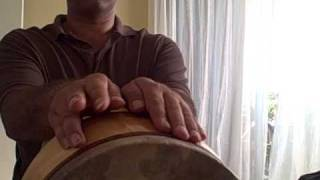 Tombak lesson 1,beginners first lessons تمرینهای ابتدایی برای تمبک نوازی