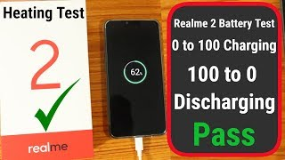Realme 2 Battery drain test |  0 to 100 | 100 to 0 | Heating Test Live