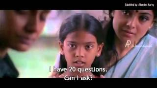 Amudha Meets Her Real Mother | Kannathil Muthamittaal | Subtitled