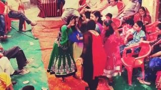 Garhwali wedding dance on my brother marriage on 27 April 2016 bhagtu mama song
