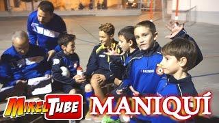 Reto Maniquí y Que viene Andy con mi equipo de Fútbol
