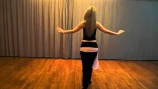 How to learn a Belly dance Choreography - Classic Raqs Sharqi - Lia Verra