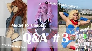 The Line Between a Model and a Cosplayer? Subbed vs Dubbed? + FAQ | Q&A #3