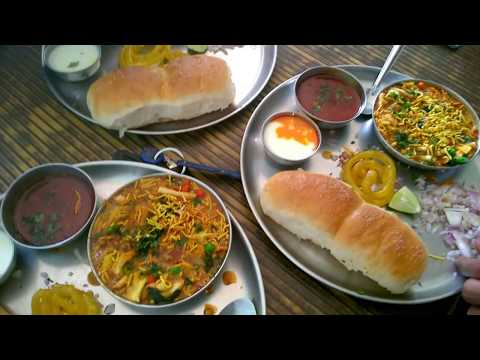[VLOG #2] | Desi Misal Pav | In My Village | Indian Street Food |