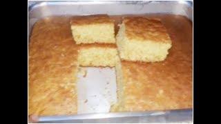 اسهل طريقة لعمل الكيكة الاسفنجية