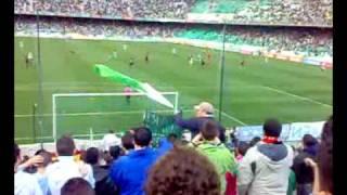 Supporters Sur - Real betis-Rayo Vallecano Gol de Emana