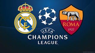FIFA 18 REAL MADRID VS ROMA CHAMPIONS LEAGUE