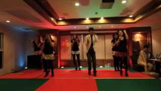The Disco Song -- Bollywood Dance performance by Divine Yoga's students