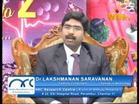 WinTV Dr A to Z interview on IVF.Best Fertility Hospitals in Chennai Tamil Nadu India-ARC Centre