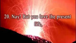 Surah 75 Al-Qiyamah (The Day of Resurrection)