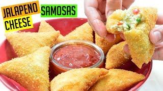 Ramadan Recipe Jalapeno Cheese Samosa Recipe | Indian Cooking Recipes | Cook with Anisa