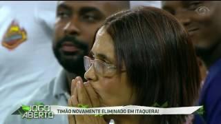 Pela sexta vez, Timão é eliminado em Itaquera