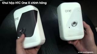 Khui hộp HTC One X Premium Pack - www.mainguyen.vn