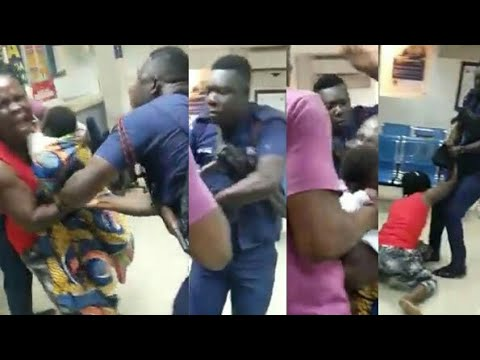 Xxx Mp4 A Nursing Mother Beaten Up Brutally By A Police Officer At Midland Saving And Loans Banking Hall 3gp Sex