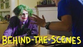 The Dark Knight - Joker's Pencil Trick - Homemade (Behind The Scenes)