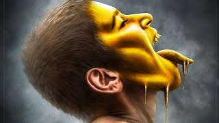 Melting Gold Effect | Photoshop Manipulation Tutorial
