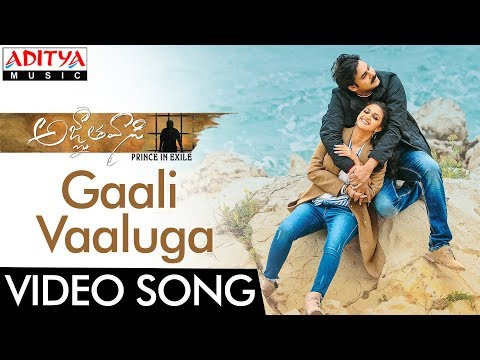 Gaali Vaaluga Video Song    Agnyaathavaasi Video Songs   Pawan Kalyan, Keerthy Suresh    Anirudh