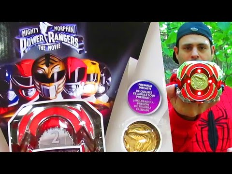 Power Rangers Legacy Movie Morpher Red Ranger! (Found in New Jersey!)