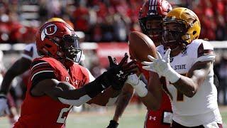 Highlight: Arizona State football hauls in four interceptions against Utah