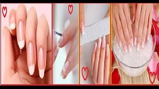 Hands whitening manicure like saloon😍 at home DIY/ 100% effective see live reults❤