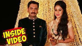 (INSIDE VIDEO) Disha Vakani Aka Dayaben Wedding Reception Party - Taarak Mehta Ka Ooltah Chashmah