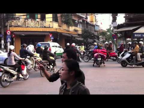 Vietnam Traffic Chaos