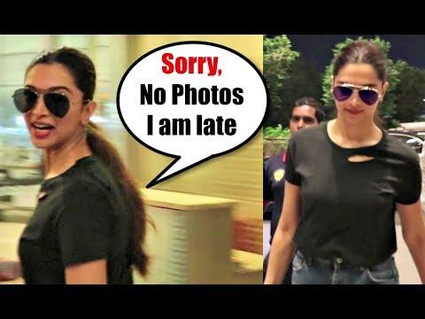Xxx Mp4 Deepika Padukone IGNORES Media Says Sorry At Mumbai Airport 3gp Sex