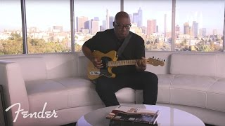 Marlon Williams Discusses the Fender American Professional Telecaster