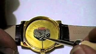 Como desarmar un reloj con maquina miyota ( 1 )