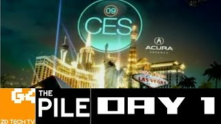 CES 2009: Day 1 - A G4 Special