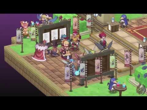 Disgaea 5 DLC: Adell, Rozalin, and Axel Scenario Cutscenes (ENG) [1080p60]