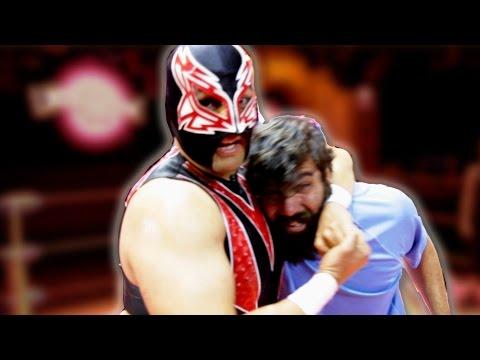 Regular People Try Lucha Libre Wrestling