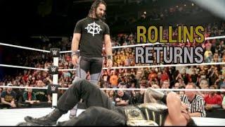 Seth Rollins Returns Extreme Rules 2016