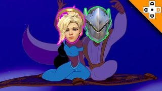 Overwatch Funny & Epic Moments 87 - MAGIC CARPET RIDE! - Highlights Montage