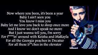 Chris Brown Ft Usher Zayn Malik Back To Sleep Remix