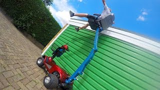 Hydraulic Crane Seat-Scooter Pimp #2