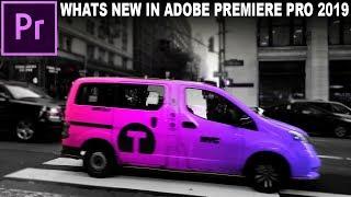 What's New in Adobe Premiere Pro CC 2019