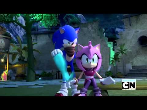 SonAmy Moments in Sonic Boom Episode 50
