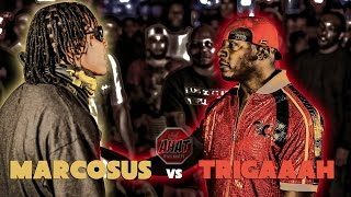 Snoop Dogg's battle rapper Marcosus vs Trigaaah - Long Beach vs Everybody