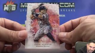 17′ TOPPS INCEPTION MLB 16 BOX CASE RANDOM #5 Break