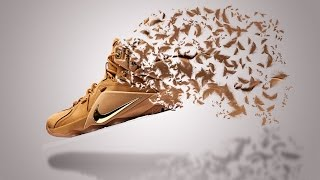 Photoshop Tutorial | Dispersion Shoe Effect | One Shoot Production TV