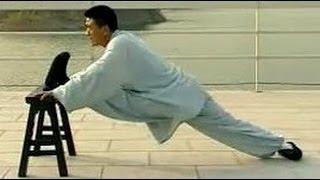 Shaolin kung fu basic training 4: advanced stretching