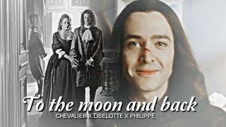 Monchevy & Liselotte ❖ To the Moon and Back