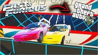 FAST & FURIOUS IN GTA V! (GTA 5 Funny Moments)