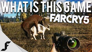 WHAT IS THIS GAME? - FAR CRY 5 NEW GAMEPLAY