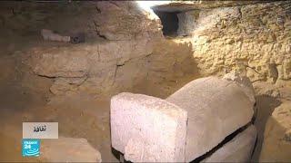 مصر.. اكتشاف أربع مقابر أثرية في محافظة المنيا