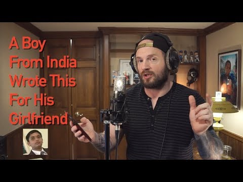 A Boy From India Wrote This For His Girlfriend